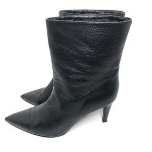 Zadig Voltaire heeled sock boot black pointy toe